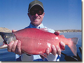 Fishing on Flaming Gorge Reservoir